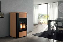 Palazzetti Space and Hot Water wood pellet Boilers / +Palazzetti space and Hot Water Wood Pellet Stoves featuring  #Palazzetti Ecofire® Idro High Performance technology will heat the home and provide domestic hot water