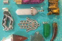 Rocks, Beads and Gems.
