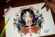 tattoo desing / My tatto desing / by Maria E. DRAW