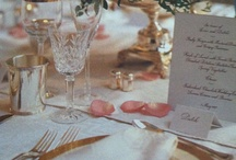 Event | TABLE SETTINGS / by Gloria Meti