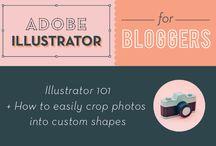 learn: Adobe Illustrator / by Tammy Tutterow