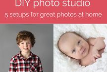 DIY Kids Portraits / Make the family photos look professional on your own.