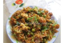 Cauliflower (Gobi) Recipes / Indian Cauliflower recipes