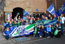 Seahawks Spirit / The Seahakws made it back to the Super Bowl. Show us your 12s spirit!