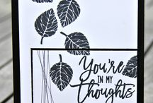 Stampin up Thoughful Branches