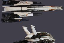 Mass Effect francise art / Art and photos from famous game series Mass Effect
