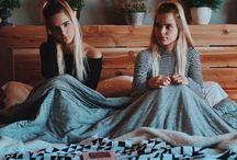 Tess and Sarah...TWINS♥♥♥