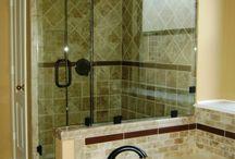 Bathroom remodel  / by Tracy Edwards