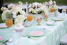 Pretty Pink Wedding florals