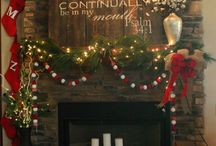 Christmas Mantle / by Stacey Shaddix