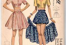 Moda anos 40/50