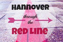 Hannover Red Line / #hannover #germany #deutschland #germania #guide #germantips