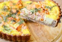 Food - Quiches, Tartes salées