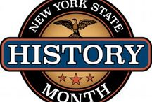 New York State History Month - Postcards / Postcards depicting some of New York State's favorite tourist attractions.