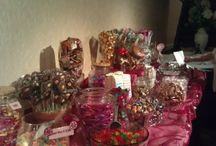 Candy and Dessert Buffets / Various candy and dessert bar/buffets... A delicious edition to any party and occassion!! / by me forever