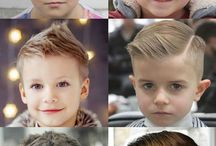 Boy's hairstyle