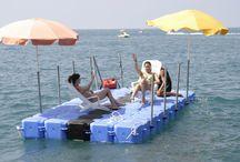 The Ultimate Swim Raft