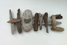 driftwood art / by Jennifer Meizen