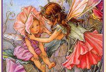 FAIRYS - CECILY MARY BARKER / by kay zingale