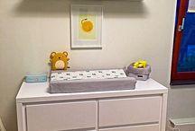 Babykamer 2015 / Modern, strak, wit en knus