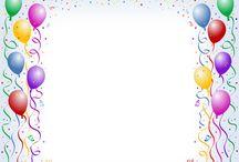 Rahmen Geburtstag