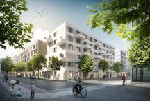 Budapester Höfe - Europacity / Insgesamt 204 moderne Mietwohnungen entstehen in dem neuen, urbanen und vielfältigem Stadtquartier nördlich des Berliner Hauptbahnhofes. Weitere Infos unter: http://www.budapester-hoefe.de/