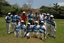 Khiladi Connect Under - 14 Cricket team / Khiladi Connect, Runners upat Kooh Sports tournament, along with Chief guest -Iandev Chauhan (Jammu & Kashmir Ranji team Captain.)