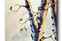 Aspen Tree Wall Decor Art Print Posters
