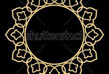 yıldız motifli telkari