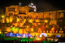 LAUNCH OF THE FESTIVITIES OF CUSCO 2016. / Launch of Inti Raymi and festivals of Cusco with a great show lived a great night of color and essence of the scene of one of the most important temples of the Inca empire, the Qorikancha.
