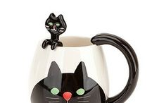 Puss in mugs