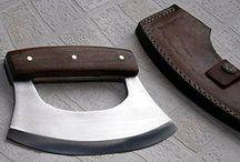 """Faca ulu """"faca do alasca"""""""