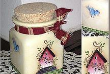 Country BARATTOLI / Barattoli, pots, jars, potes..... Country
