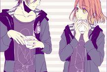 Tokiya and Nanami