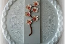 Mis flores de fondant