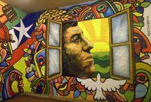 Brigada Ramona Parra / el expresionismo de un pueblo amerindio que vuelve al origen