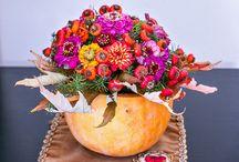 Ősz / Flower arrengement - autumn