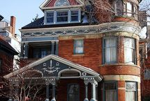 Painted Ladies / The beauty of past Victorian homes / by Gloria
