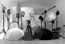 Fotos del estudio / Diversas fotos de sesiones, inauguraciones, exposiciones,etc.