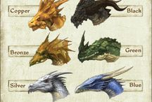 Mythical Beasts / Art of Mythical creatures and beasts.