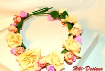 the cutest head-wreath for a party
