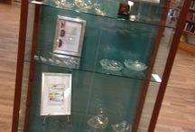 Utställning / Visar egna glasfusing alster / tavlor och annat som jag gjort