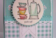 Stampin up tea cups