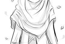 Drawings hijab]