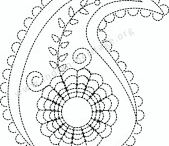 Embroidery - Paisley / Embroidery
