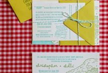 Poetry in Paperie / Putting pen to paper never looked so good! Invitations, stationary, place cards and more.