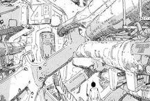 Cyber Funk / Nihei Tsutomu  Otomo Katsuhiro