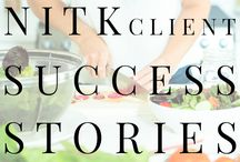 NITK Success Stories / Success Stories from Nutritionist in the Kitch clients!