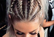 B|R|A|I|D|E|D hairstyles