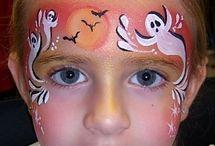 Trucco halloween bimba